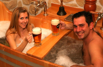 spa con cerveza