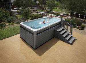 la moda de los swim spas o spas de natacion