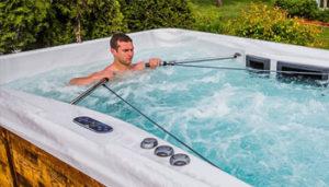 sistema de helice WT swim spa