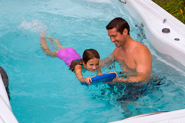 swim spas 10