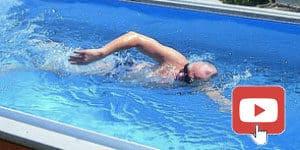 practicar natacion en swim spa