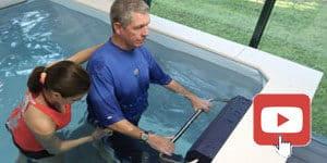 terapia en swim spa