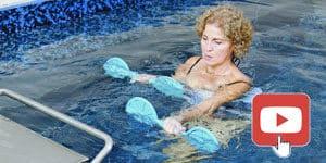 ejercicio acuatico en swim spa